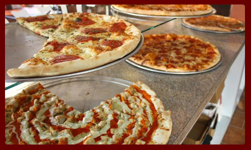Carmine's pizza factory Jersey City